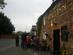 Quick pub stop at The Stag Inn
