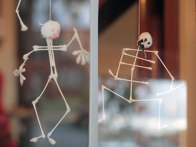 Cotton Ball / Swab Skeletons