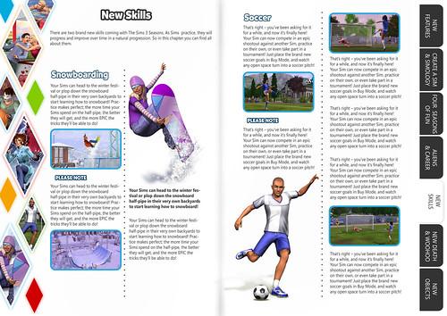 SimsVIP Season Game Guide PDF Design