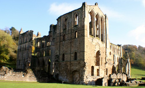 South Transept at Rievaulx Abbey, England