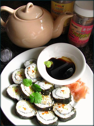 october sushi by Stephanie Distler