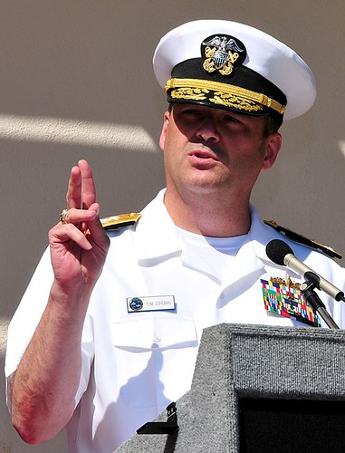 Commander, Naval Surface Force, U.S. Pacific Fleet, Vice Adm. Tom Copeman