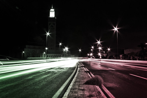 Casa by night (3).. by Ahmed.Sbai Photography