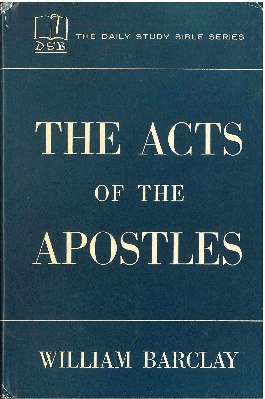 Dating acts of the apostles