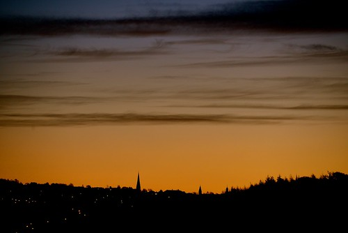 morning skyline sunrise nikon d600 lanark