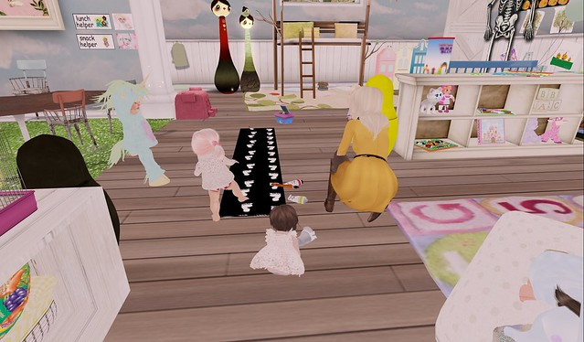Hadlee's Homeschool Ghost Feet!