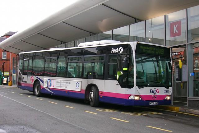 First Greater Manchester, Mercedes Citaro W336 JND, Oldham bus station