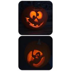 smiley(0.0), icon(0.0), font(0.0), orange(1.0), pumpkin(1.0), jack-o'-lantern(1.0),