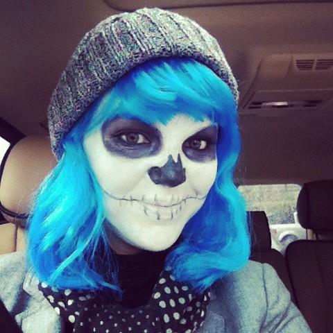 me on halloween