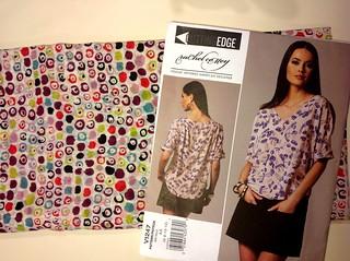 Sewing Vogue 1247: Rachel Comey Top