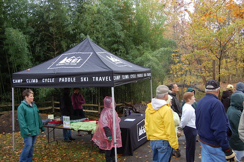 REI Reforestation Volunteer Project 10/20/2012