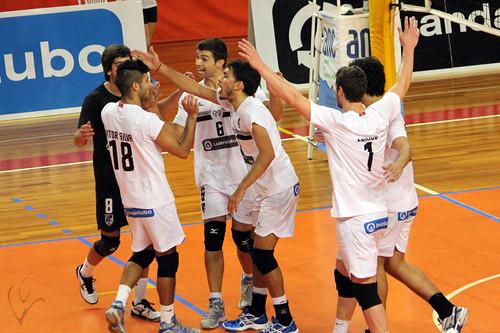 Voleibol: Vitória SC 3-0 Leixões