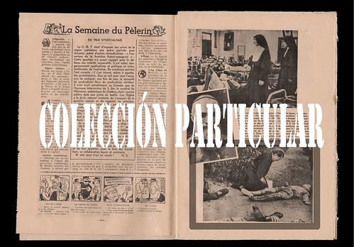 LXXV aniversario del bombardeo de Lérida. «Le Pelerin» 21 de noviembre de 1937, núm. 3165 by Octavi Centelles
