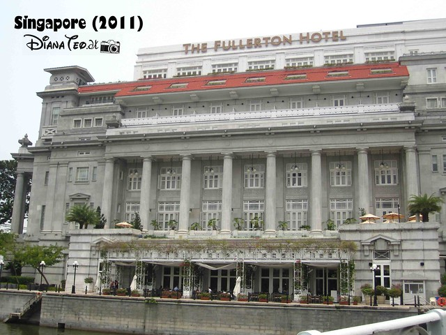 Day 4 Singapore - Fullerton Hotel