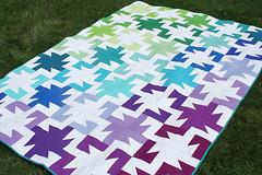 Sparkler quilt by freshlypieced