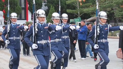 Changing of the Guards - Martyrs' Shrine