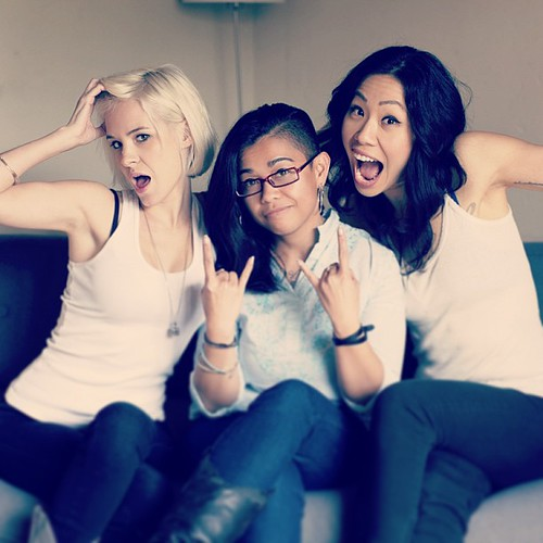 Hangin' w/ rad #filmmakers @breagrant and @veramiao. We are totes ready for the apocalypse.