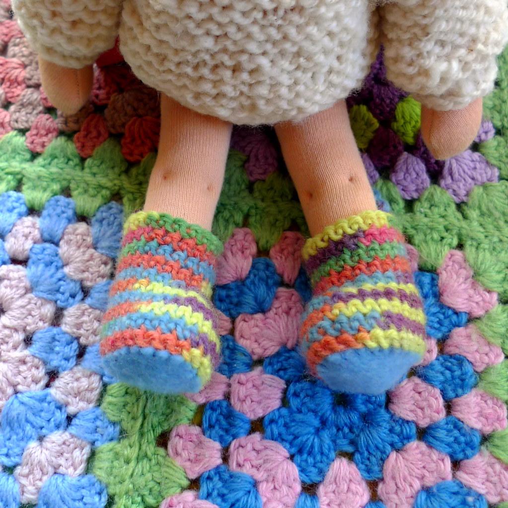 rainbow gumboots