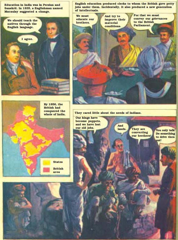 NCERT Class VIII English Chapter 3 Glimpses of the Past