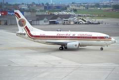 Egypt Air Boeing 737-500; SU-GBH@ZRH;01.06.1997