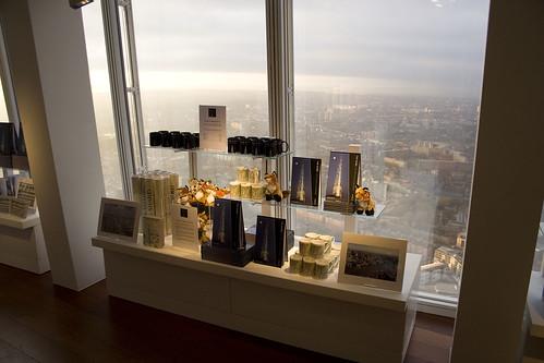 London's highest gift shop