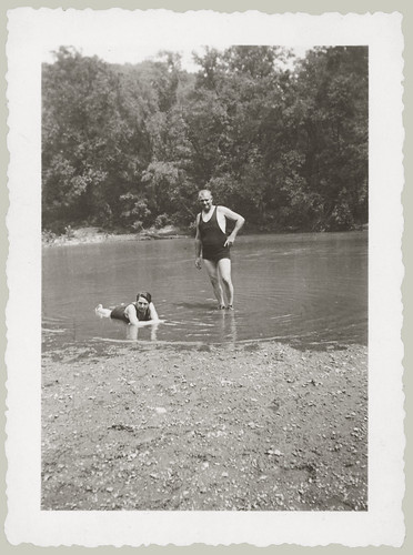 Two guys at the Swimming Hole