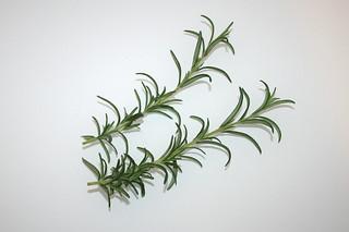 03 - Zutat Rosmarin / Ingredient rosemary