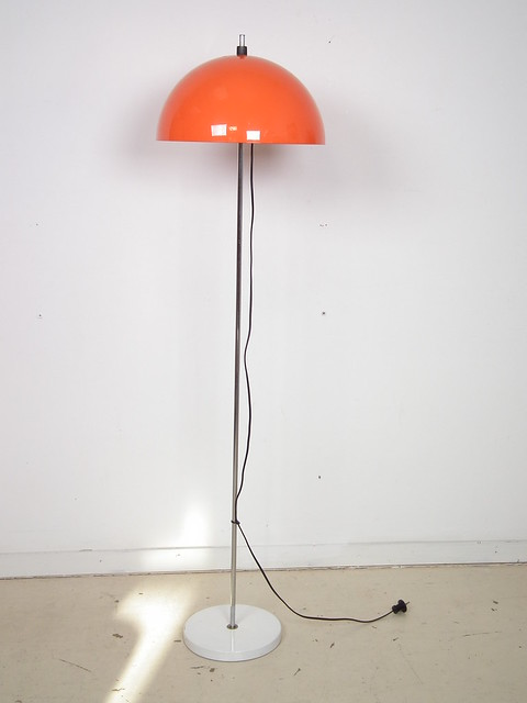 Orange Floor Lamp Flickr Photo Sharing