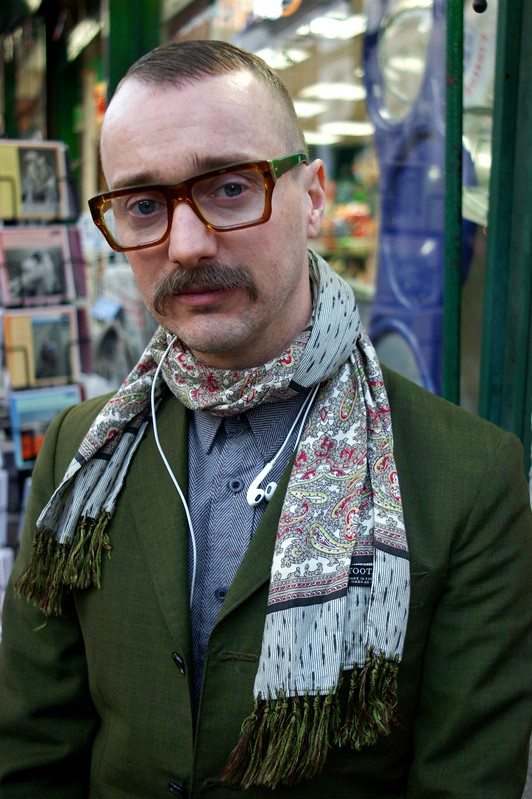Street Style - Mystery Man, London Collections: Men