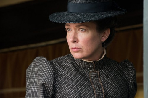 Elizabeth Marvel playing the character Mattie Ross, all grown up, from the Coen brothers film True Grit. by busboy4