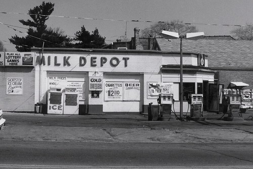 The Milk Depot on West 16th Street.  Berwyn Illinois.  April 1989. by Eddie from Chicago