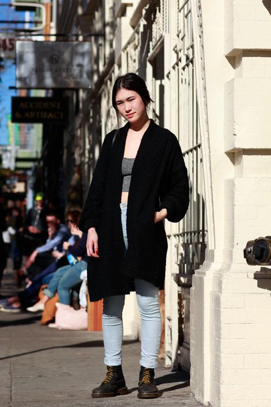 emily_4b_ street style, street fashion, women, San Francisco, Valencia Street, Quick Shots