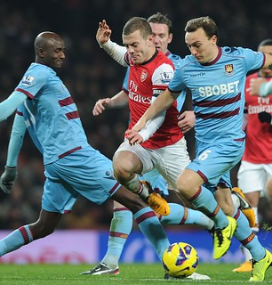 Arsenal captain Jack Wilshere