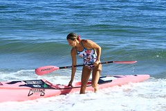 sailing(0.0), surfing--equipment and supplies(0.0), boardsport(0.0), surfing(0.0), canoe sprint(0.0), stand up paddle surfing(0.0), windsurfing(0.0), surfboard(0.0), surface water sports(1.0), vehicle(1.0), sports(1.0), sea(1.0), boating(1.0), water sport(1.0), kayaking(1.0), sea kayak(1.0), canoeing(1.0), boat(1.0), paddle(1.0),