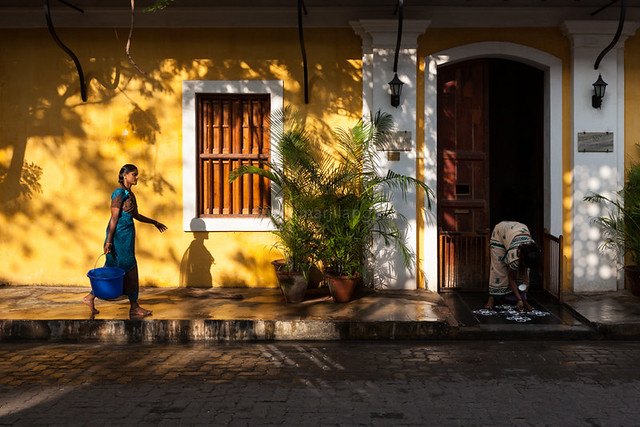 Shadows, Pondicherry