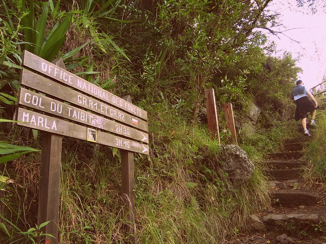 Col du Taibit trail