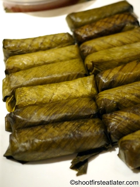 Pinoy Potluck Party- suman from Butuan