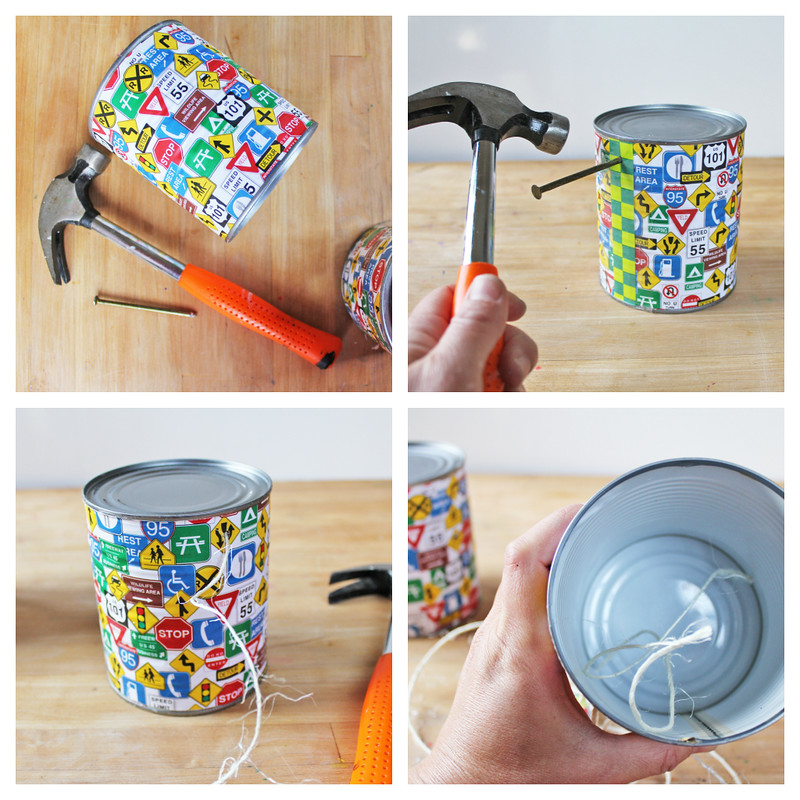 Learn how to make the classic DIY toy: Tin Can Stilts!