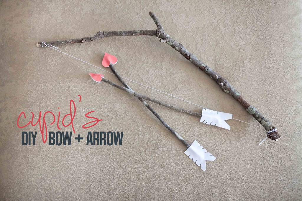 Diy Cupid Bow Arrow Set Fresh Mommy Blog