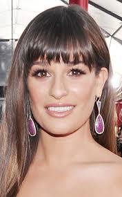 Lea Michele Statement Earrings Celebrity Style Women's Fashion