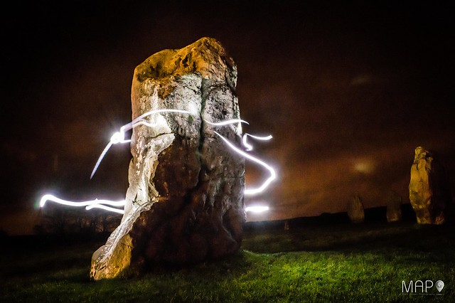 Avebury Light Painting