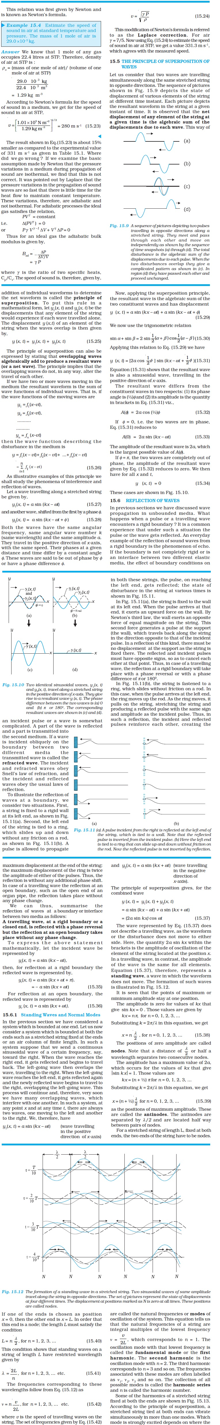 NCERT Class XI Physics Chapter 15 – Waves