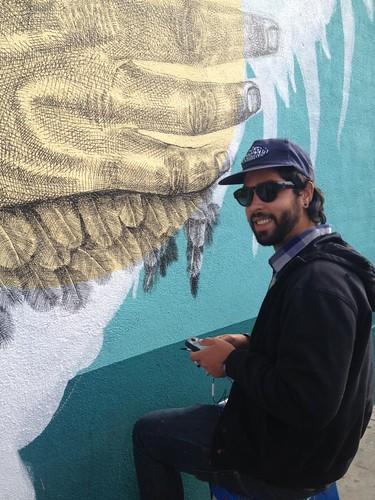 La Pandilla Alexis Diaz Mural Venice Beach