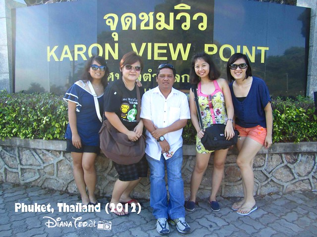 Phuket Day 1 - Karon View Point 01