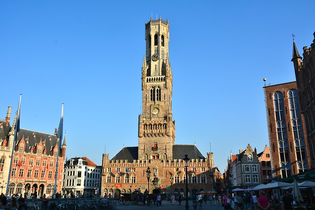 Bruges: Belfry and Cloth Hall
