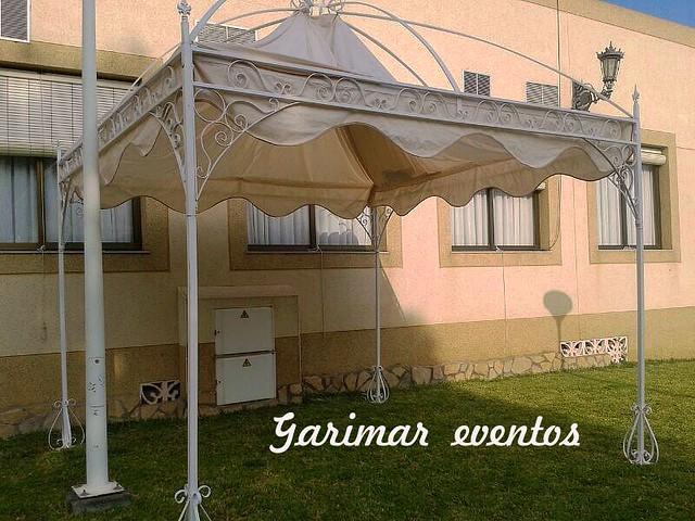 Sombrillas y parasoles - Pergolas de forja ...