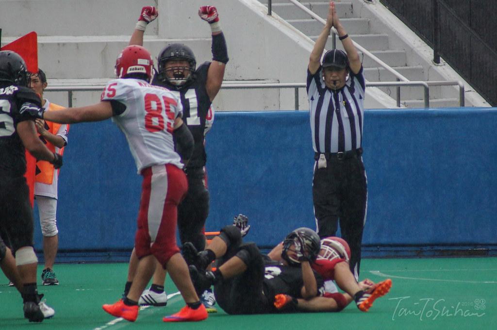 広島大-島根大(中四国学生アメリカンフットボールリーグ戦 2016)