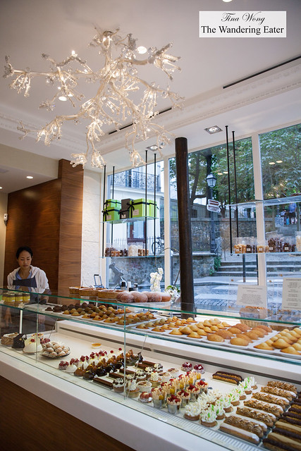 Interior of Patisserie Gilles Marchal