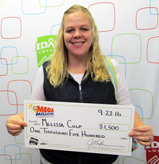 Melissa Culp - $1,500 Mega Millions
