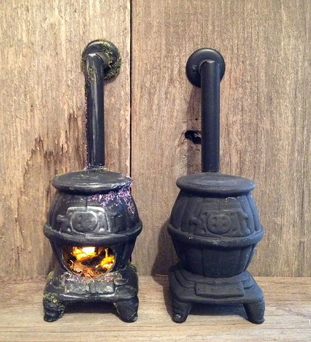Tutorial: Fairy Dollhouse Wood Stove